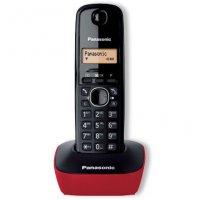 PANASONIC KX-TG1611GRR Ψηφιακό Ασύρματο Τηλέφωνο Κόκκινο