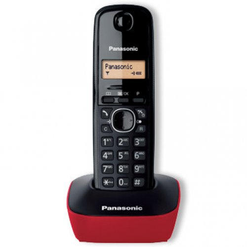 PANASONIC KX-TG1611GRR Ψηφιακό Ασύρματο Τηλέφωνο Κόκκινο 230090