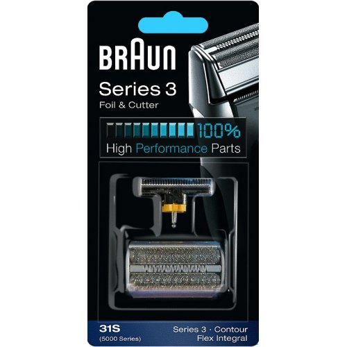 BRAUN 31S COMBIPACK (FOIL & CUTTER) Ανταλλακτικό Ξυριστικής Μηχανής 0001962
