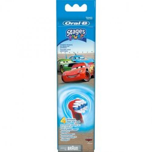 ORAL-B STAGES POWER EB10K CARS Ανταλλακτικά Οδοντόβουρτσας 4 ΤΜΧ