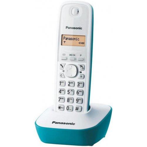 PANASONIC KX-TG1611GRC Ψηφιακό Ασύρματο Τηλέφωνο Τιρκουάζ
