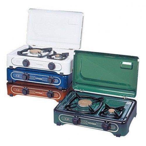 THERMOGAS Pn22 Συσκευή Υγραερίου Λευκή 2 Εστίες 012003