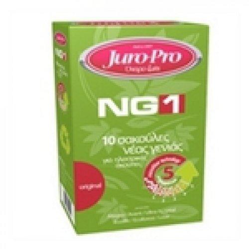JURO-PRO NG1 10τμχ για Love/Allegra/Ecolife/Avant/Ultra/Crystal/Iris-A Σακούλες Ηλεκτρικής Σκούπας 0005245