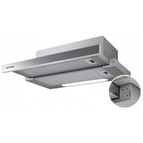 PYRAMIS Turbo Slim Inox Απορροφητήρας 60cm - 600 m3/h - 065006401