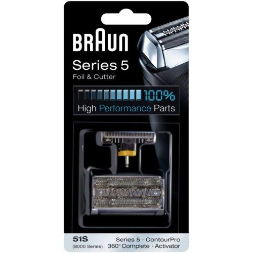 BRAUN 51S COMBIPACK (FOIL & CUTTER) Ανταλλακτικό Ξυριστικής Μηχανής 0003887