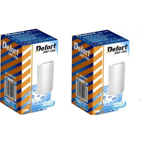 Defort DWF-100c Φίλτρο Νερού Πακέτο 2 Τμχ Ενεργού Άνθρακα (Για DWF-600 & DWF-500)