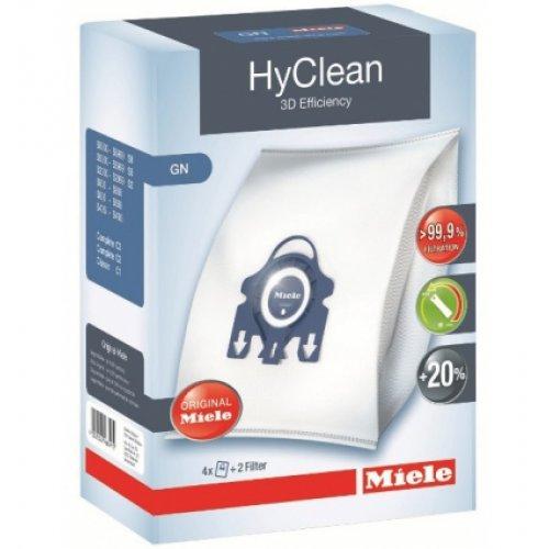 MIELE GN HyClean 3D Efficiency Σακούλες Ηλεκτρικής Σκούπας ORIGINAL - 4 τεμάχια + 2 φίλτρα 400016