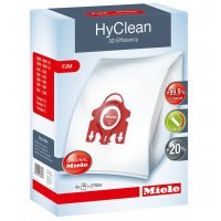 MIELE FJM HyClean 3D Efficiency Σακούλες Ηλεκτρικής Σκούπας ORIGINAL - 4 τεμάχια + 2 φίλτρα