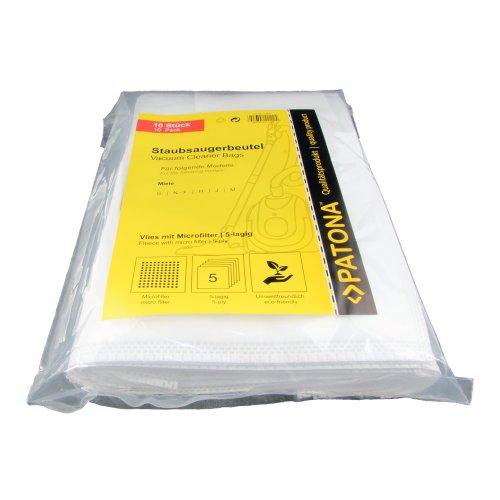 PATONA 9504  (για Miele FJM + GN) Σακούλες Ηλ.Σκούπας 10 σακούλες + 1φίλτρο