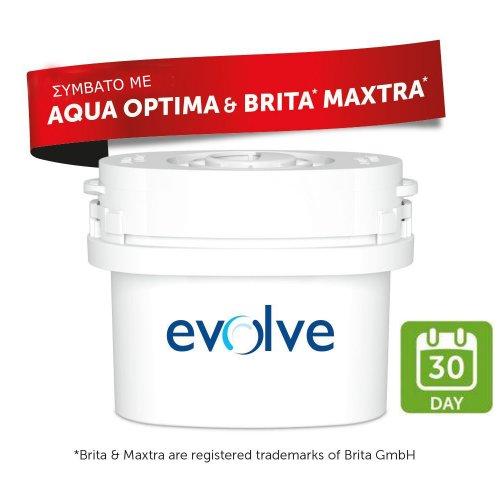 Αντικαθιστά BRITA MAXTRA - Ανταλλακτικό Φίλτρο 1τμχ - Aqua Optima Evolve EVS 0001325
