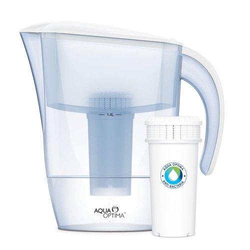 AQUA OPTIMA AJ0100 JUNO Κανάτα Φιλτραρίσματος Νερού 2,4Lt + 1 Αντιβακτηριδιακό Φίλτρο 3 Μηνών