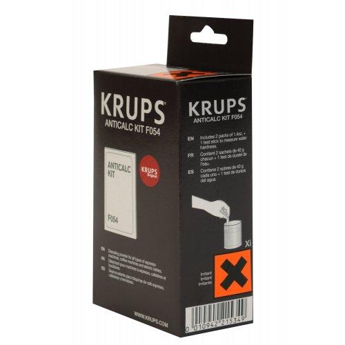 KRUPS F054001B (f054) Κιτ Αφαλάτωσης για Μηχανές Espresso & Πολυροφημάτων 0008080
