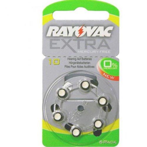 RAYOVAC EXTRA ADVANCED PR70 10MF Μπαταρίες Ακουστικών Βαρηκοϊας No 10
