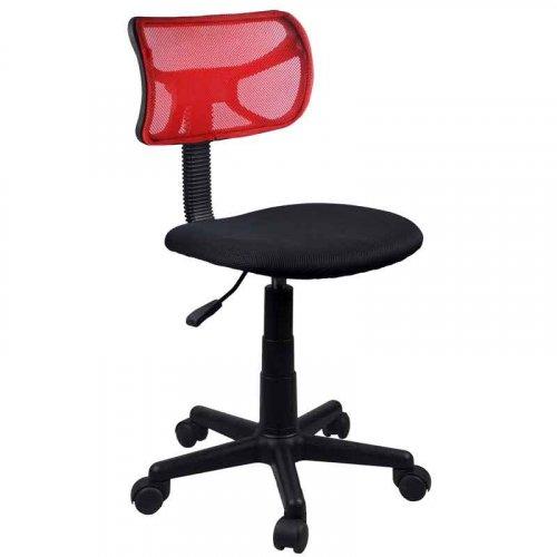 FYLLIANA 093-15-054 Καρέκλα Γραφείου χωρίς Μπράτσα Κόκκινο