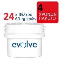 Αντικαθιστούν BRITA MAXTRA - Ανταλλακτικά Φίλτρα 24τμχ 60-Ημερών (4 Ετών)- Aqua Optima Evolve EVD