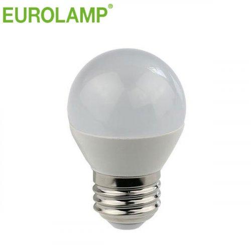 EUROLAMP 147-80233 Λάμπα Led Σφαιρική 5W Ε27 2700K 240V