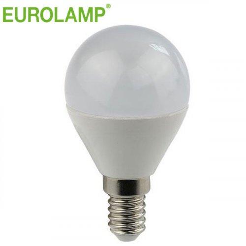 EUROLAMP 147-80234 7W Ε14 6500K 240V Λάμπα Σφαιρική LED
