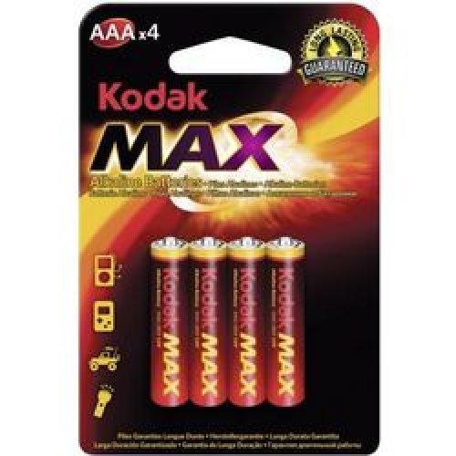 KODAK LR03 Αλκαλικές Μπαταριές ΑΑΑ 1.5V 4τεμ