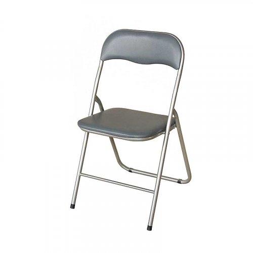 FYLLIANA Α-070 205-15-012 Καρέκλα Σπαστή Γκρι 43 x 44 x 78 εκ. 0011722