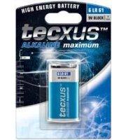 TECXUS 6LR61 11014 9V Αλκαλική Μπαταρία