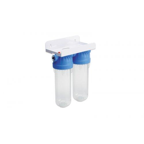 USTM FS-2 WFW ΕΜΙ Σύστημα Φιλτραρίσματος Νερού Κάτω Πάγκου Κομπλέ (Με όλα τα Φίλτρα & Εξαρτήματα)