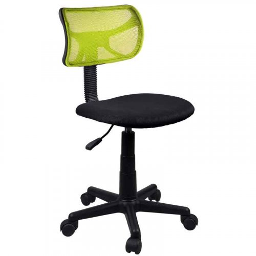 FYLLIANA 5001 093-15-056 Καρέκλα Γραφείου Πράσινη χωρίς Μπράτσα