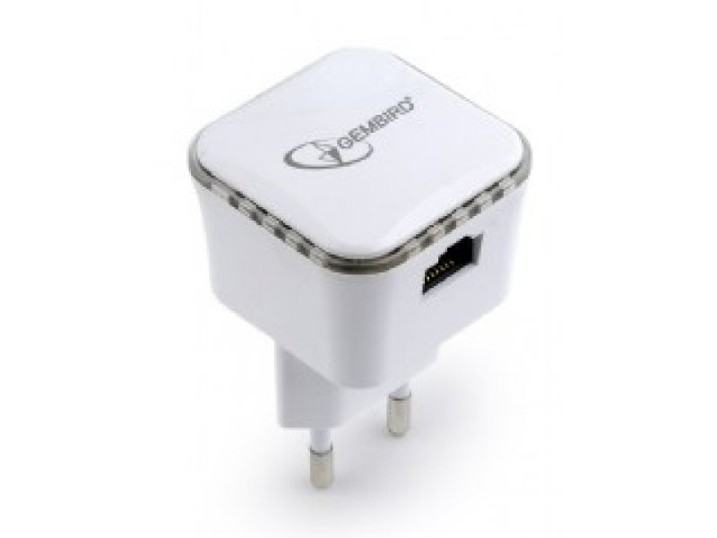 GEMBIRD WNP-RP300-01 WiFi Repeater 300MBPS Λευκό