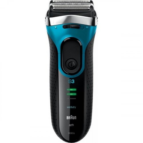 BRAUN 3080s Series 3 Proskin Wet & Dry Επαναφορτιζόμενη Ξυριστική Μηχανή Αδιάβροχη