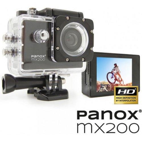 EASYPIX Panox MX200 Action Camera - Αδιάβροχη (με θήκη) - HD - Οπτικό Πεδίο: 90°