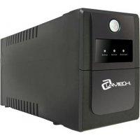 LAMTECH K650VA AVR (LAM041317) UPS με AVR - CPU 12V7AH  - 2 schuko socket