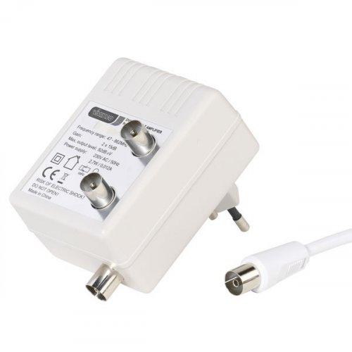 VIVANCO VZV 15-NJ (43076) Ενισχυτής Σήματος DVB-C/DVB-T Λευκός 0014524