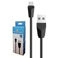 POWERTECH CAB-U081 Καλώδιο USB 2.0 σε Micro USB Type B, 1m, Black