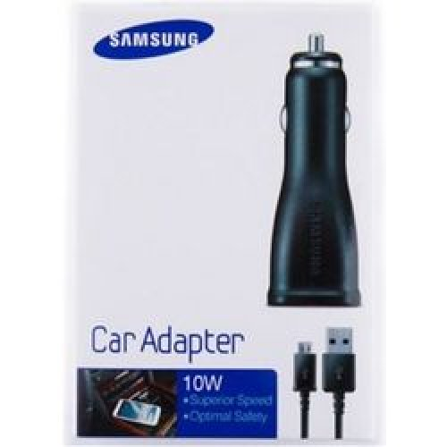 SAMSUNG ECA-U21CBE IN-CAR POWER CHARGER MICRO USB BLISTER