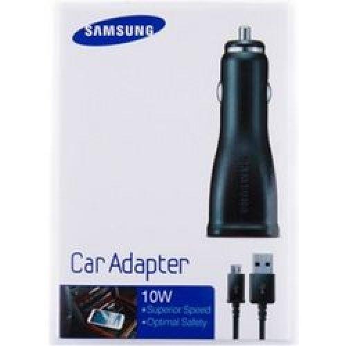 SAMSUNG ECA-U21CBE IN-CAR POWER CHARGER MICRO USB BLISTER 0014843