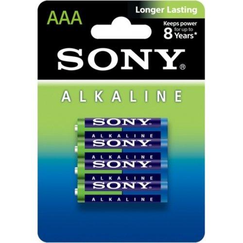 SONY AM4L-B4D AAA LR03 1.5V Αλκαλικές Μπαταρίες Longer Lasting (4τμχ) 0014956