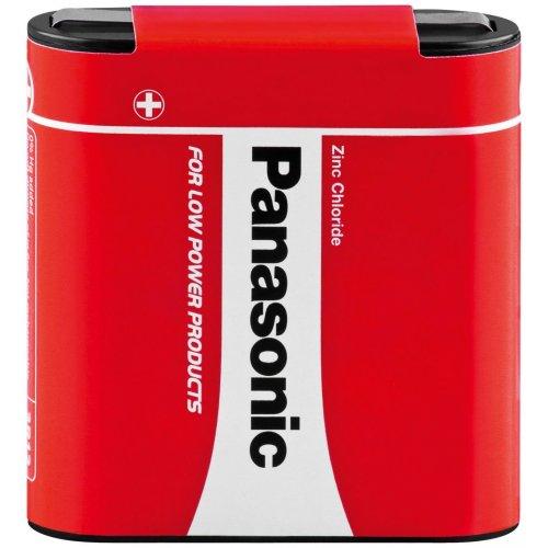 PANASONIC ZINC CARBON 4.5V 3R12 Μπαταρία Πλακέ Φακού