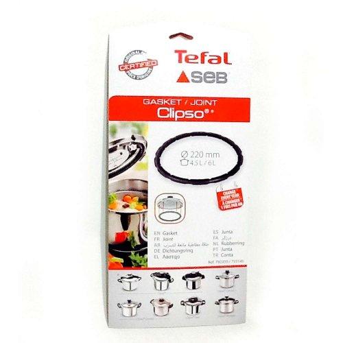 SEB/TEFAL Γνήσιο - Original Λάστιχο Χύτρας Clipso 220mm για 4.5L/6L (792350/793145)