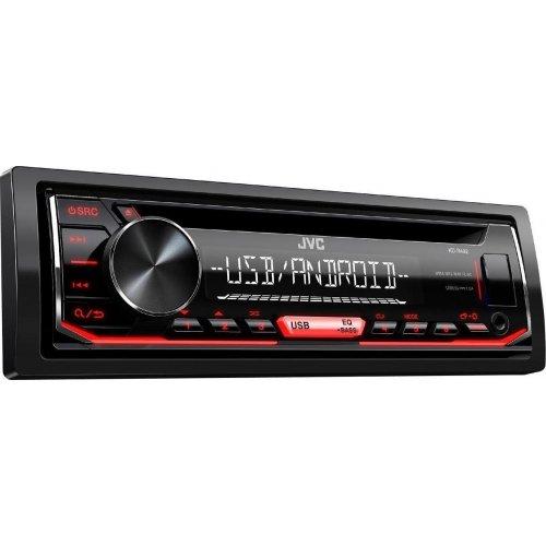 JVC KD-R492 Ράδιο Αυτοκινήτου CD/USB/MP3 με Κόκκινο Φωτισμό - Συμβατό με Android 0015463