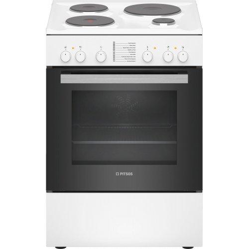 PITSOS PHA009020 Κουζίνα Εμαγιέ 66lt - 60cm - Α - (Υ x Π x Β): 85 x 60 x 60 cm 0015650