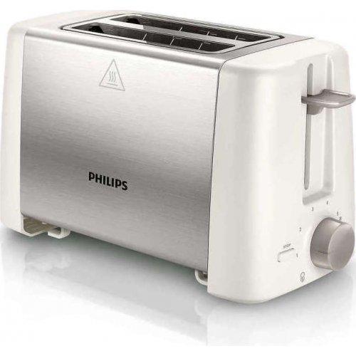 PHILIPS HD4825/00 Φρυγανιέρα 800W - Λευκό/Inox