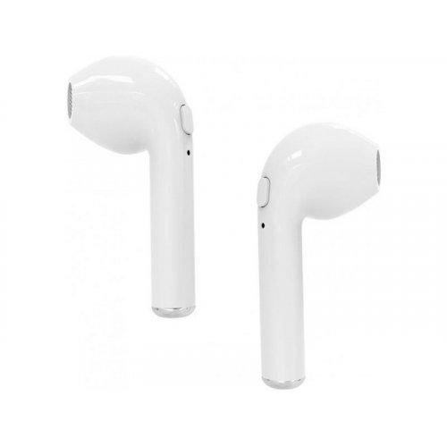 MEDIATECH MT3589W Ακουστικά Bluetooth 4.2 TWS με Κουτί Φόρτισης White 0016631