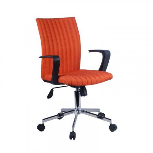 FYLLIANA  093-27-110 Καρέκλα Γραφείου Πορτοκαλί 57χ58χ90.5/99εκ.