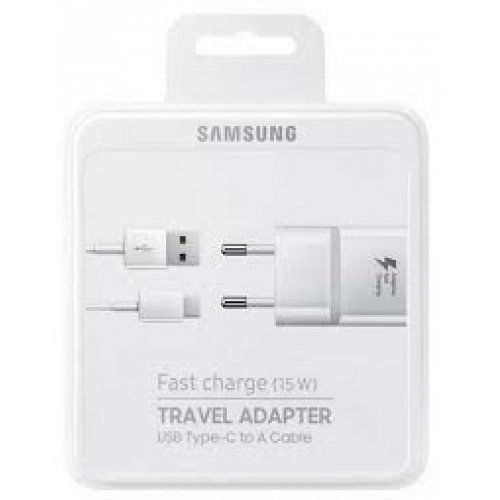 SAMSUNG EP-TA20EWECGWW Φορτιστής Ταξιδίου TYPE-C Λευκό 0016883