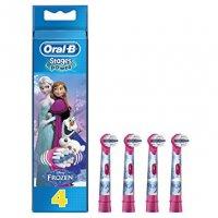 ORAL-B STAGES EB10K FROZEN Ανταλλακτικά Οδοντόβουρτσας 4 ΤΜΧ