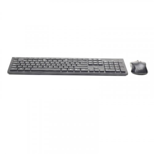 GEMBIRD KBS-WCH-01-BL-GR Wireless Chocolate Desktop Set Greek Layout Black 0017115