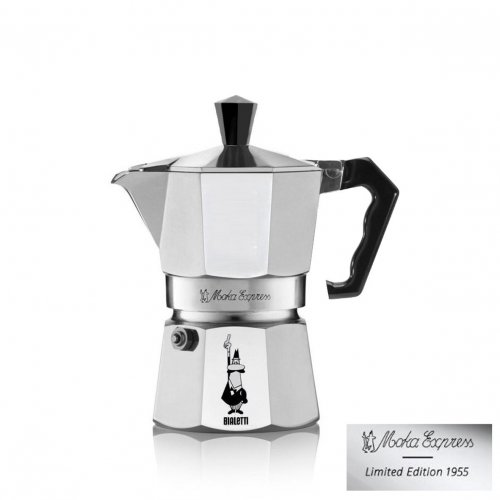 BIALETTI Moka Express Special Edition Καφετιέρα Espresso 3 Μερίδων (Περιορισμένα Τεμάχια) 0014993