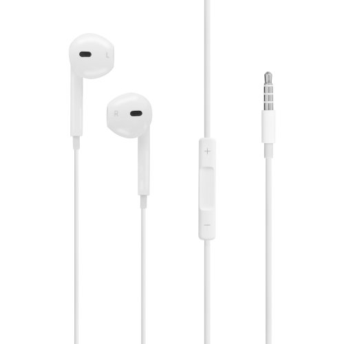LAMTECH LAM020663 Handsfree Stereo 3,5mm Jack With Mic White