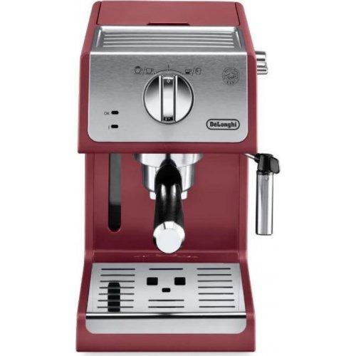 DELONGHI ECP33.21.R Μηχανή Espresso 15 bar - 1100 W Κόκκινη - Αποκλειστικό μοντέλο