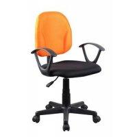 FYLLIANA 8010 093-14-020 Καρέκλα Γραφείου Πορτοκαλί