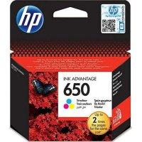 HP CZ102AE No 650 Colour Μελάνι
